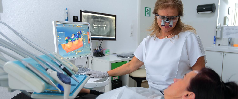 Inlays und Kronen mit CEREC, Praxis Dr.Veigel und Partner, Rheinau