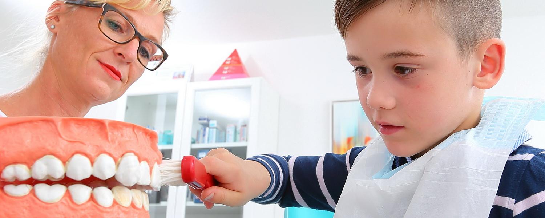 Kinderprophylaxe, Praxis Dr.Veigel und Partner, Rheinau